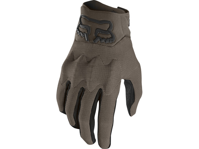 Fox Defend D3O Gloves Herren navy/orange